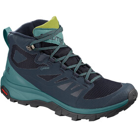 Salomon Outline Mid GTX Chaussures Femme, navy